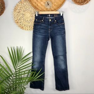 7 For All Mankind | Mid Rise Kimmie Bootcut Jean